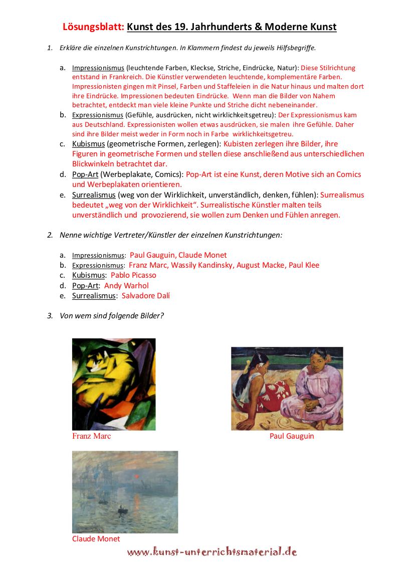 Kunst Und Unterricht